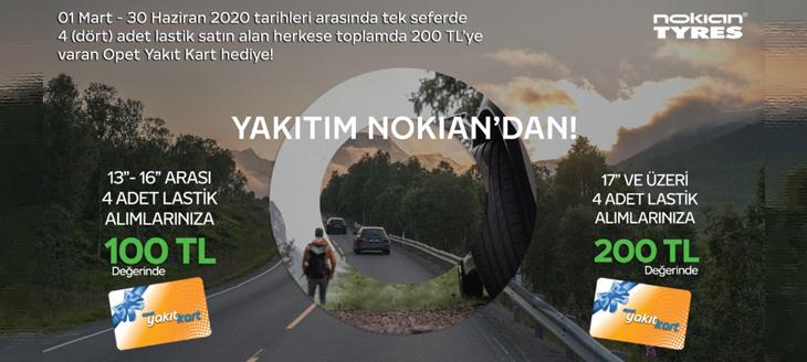 Nokian Yakıt Kampanyası